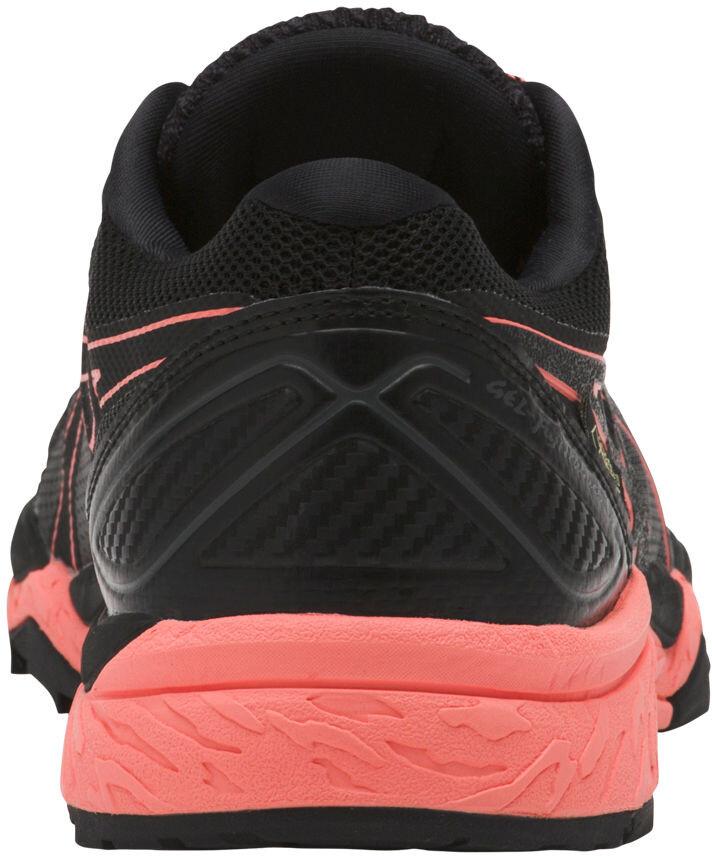 d340479bf2d75 asics Gel-Fujitrabuco 6 G-TX Shoes Women Black Begonia Pink Black ...